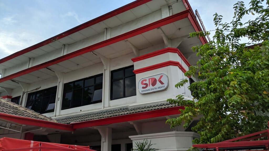 Gedung Semarang Digital Kreatif ( SDK ) Semarang