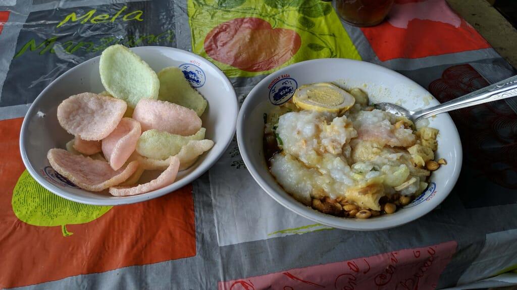 Bubur Ayam Enak di Ngaliyan Semarang