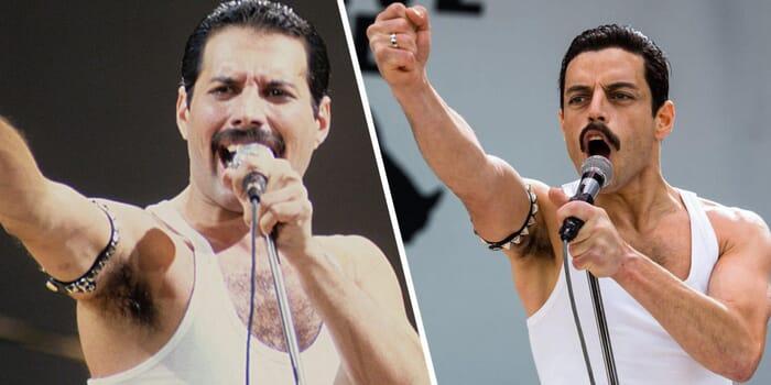 Freddie Mercyru dan Rami Malek