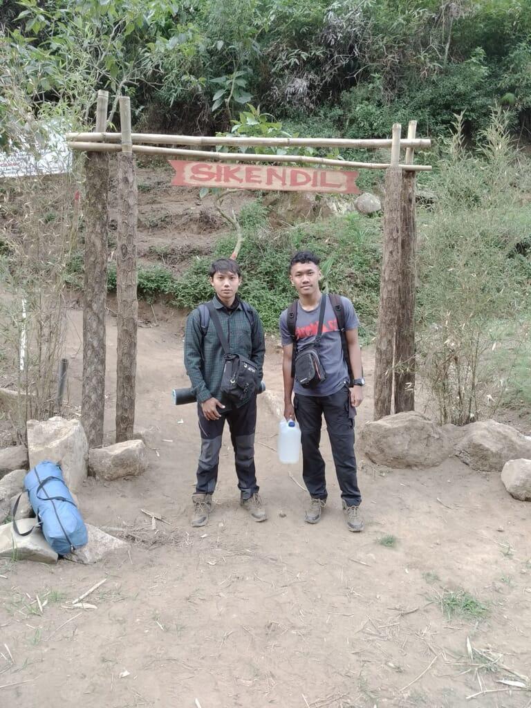 Gerbang masuk gunung kendil