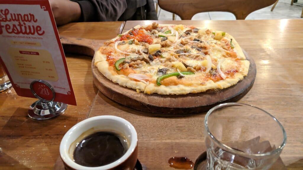 menu makanan Kafe lot 28 semarang