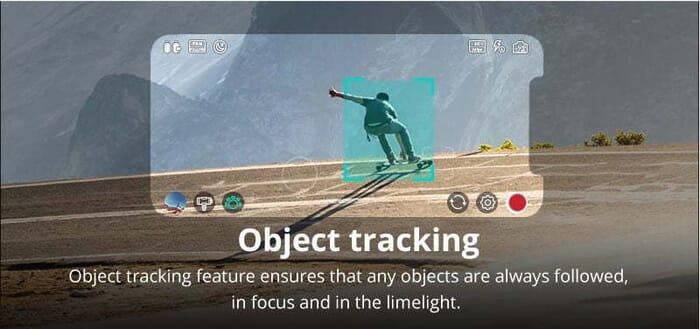 Object tracking moza mini s