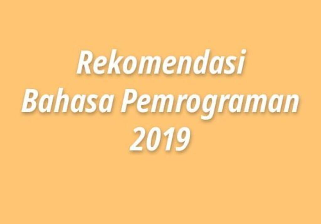 5 Rekomendasi Bahasa Pemrograman untuk membuat website 2019