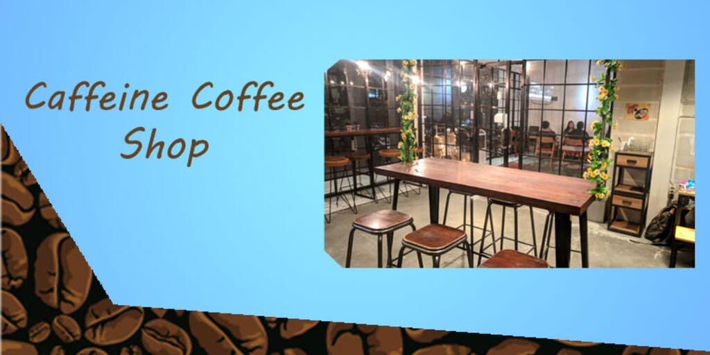 Review Kafe Caffeine Coffee Shop semarang