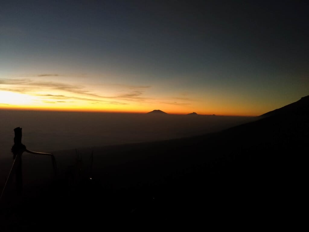 sunrise gunung kendil temanggung wonosobo